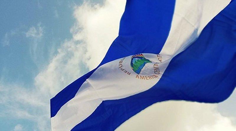 Flag of Nicaragua.
