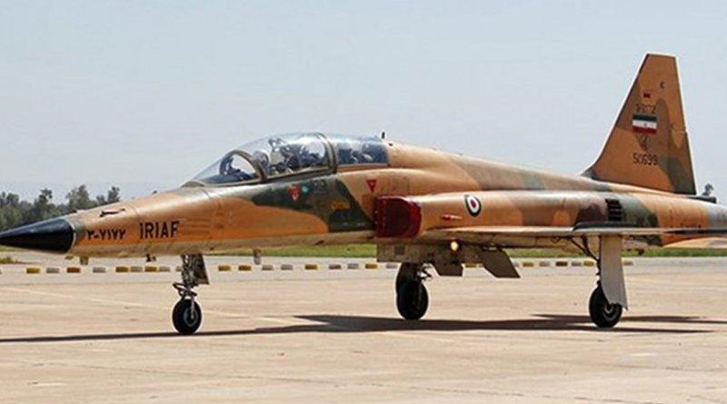 Iranian fighter jet. Photo Credit: Fars News Agency.