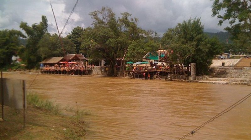 River in Laos. Photo Credit: Matthew Summerton, Wikimedia Commons.