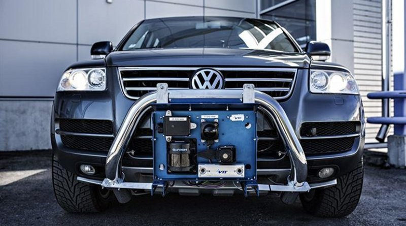 VTT's robot car Martti