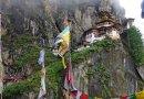 Takshang Buddhist Monastery in Bhutan.
