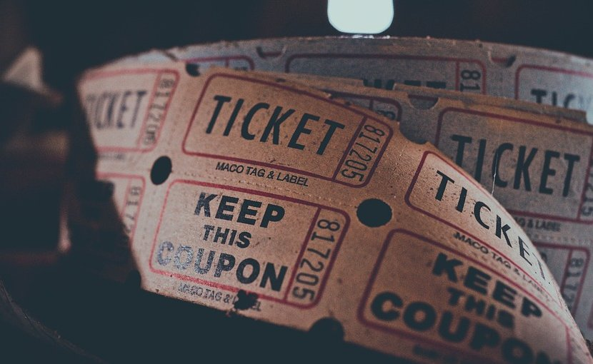cinema theater ticket