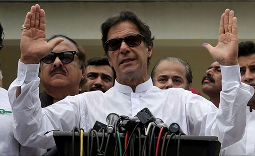 Pakistan's Imran Khan. Photo Credit: Fars News Agency.