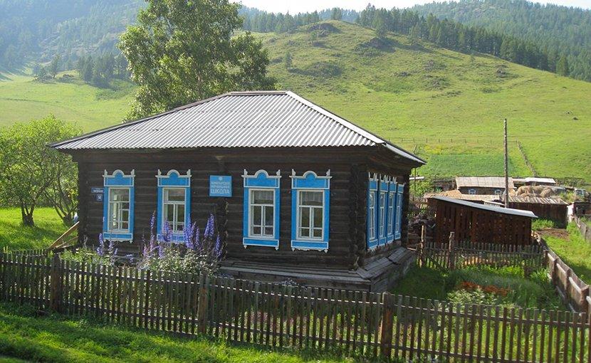 A small farm in Russia.