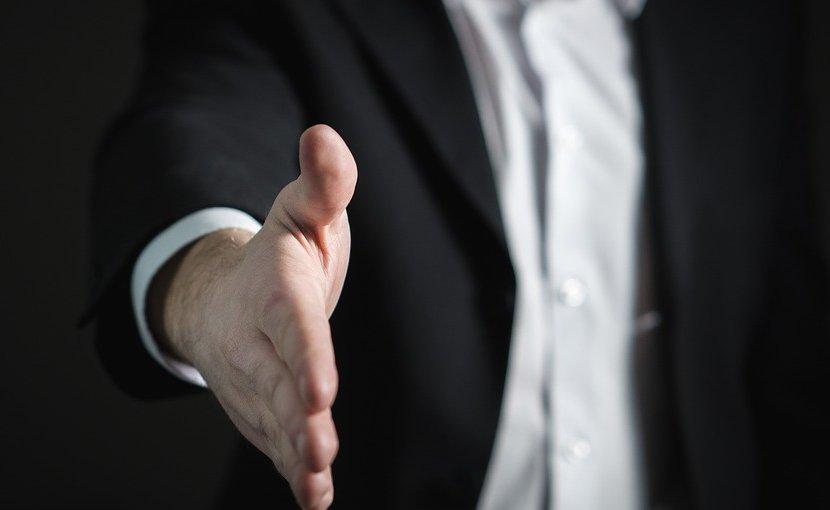 handshake sales