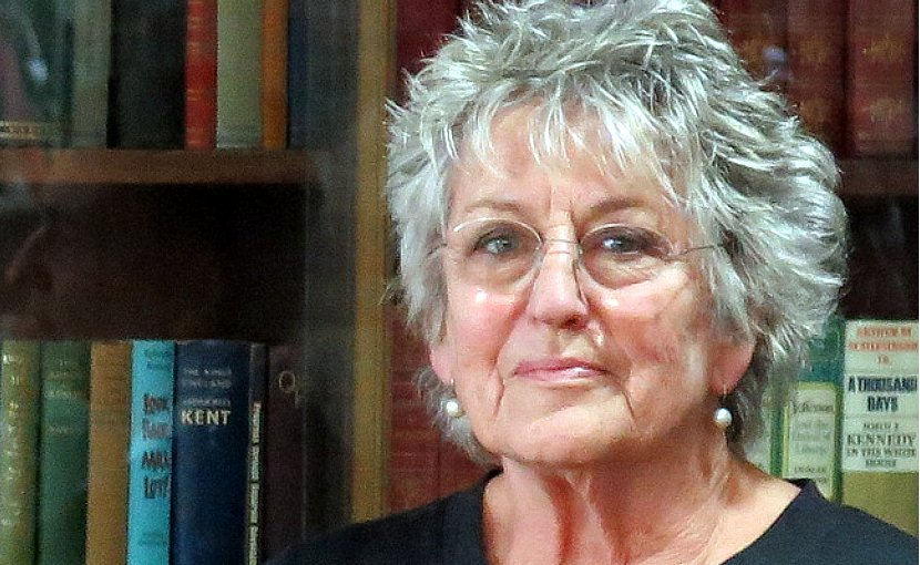 Germaine Greer. Photo Credit: Helen Morgan, Wikipedia Commons.