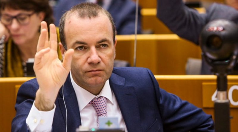 The head of the EPP group, Manfred Weber. [European Parliament]