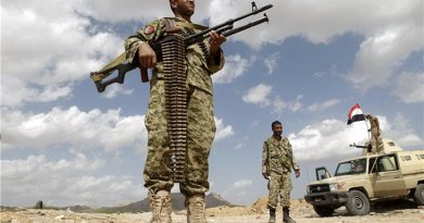 Houthi soldiers in Yemen. Photo Credit: Tasnim News Agency.