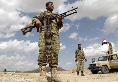 Houthi soldiers in Yemen. Photo Credit: Tasnim News Agency.