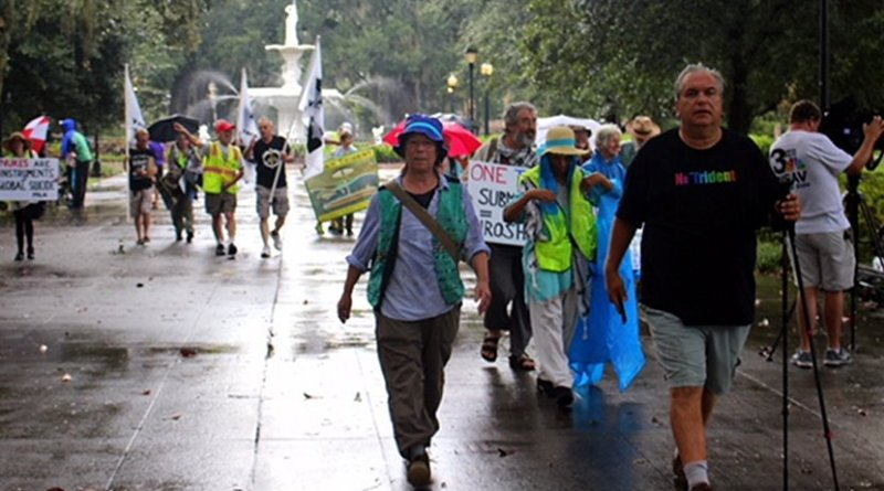 Disarm Trident Walk. Photo Credit. VCNV