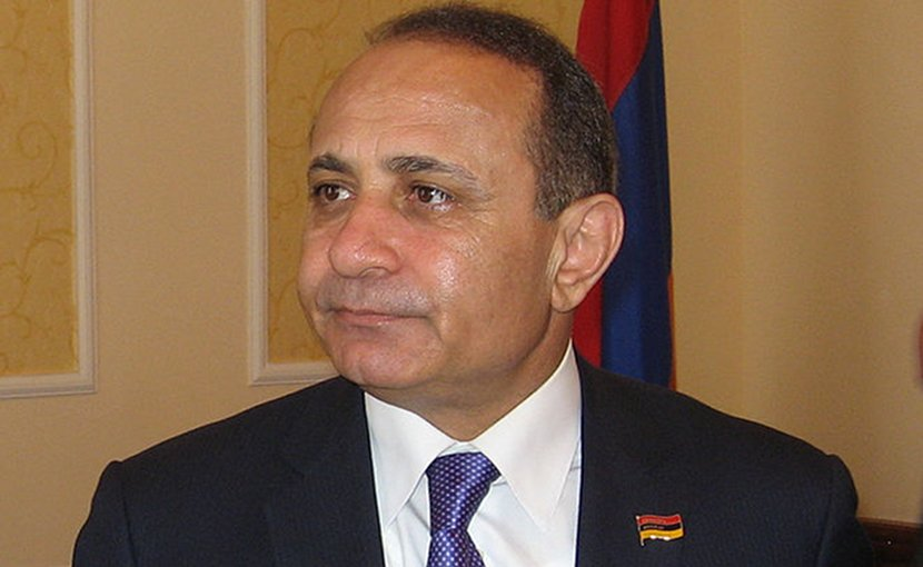Armenia's Hovik Abrahamyan. Photo Credit: oscepa, Wikimedia Commons.