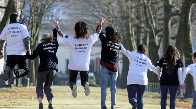European Solidarity Corps. Photo Credit: escorps.eu