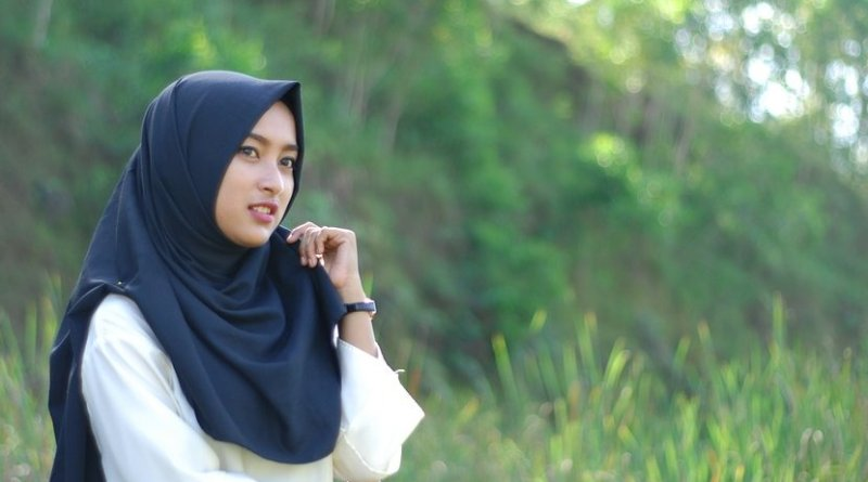 A young Indonesian Muslim woman