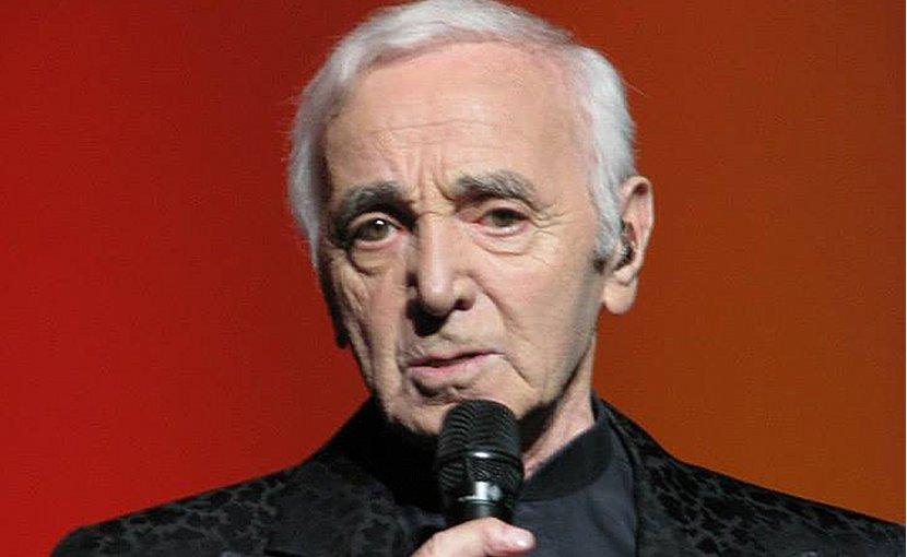 Charles Aznavour. Photo Credit: Mariusz Kubik, Wikipedia Commons.