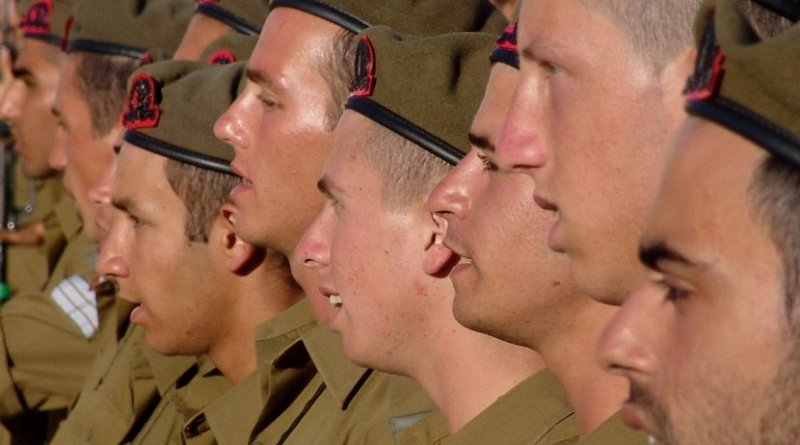 File photo of Israeli soldiers.