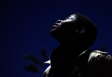 black african american man