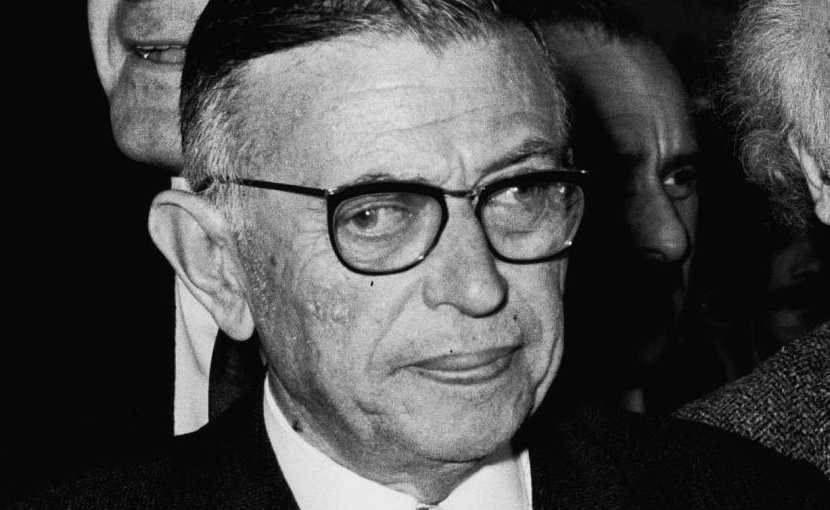 French philosopher-writer Jean Paul Sartre. Photo Credit: Moshe Milner, Wikimedia Commons.