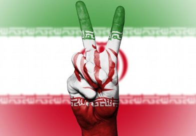 iran flag peace