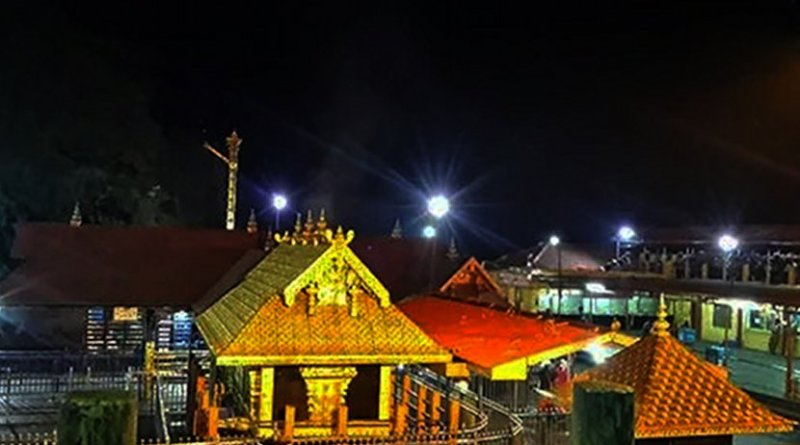 Sabarimala temple in India. Photo Credit: Saisumanth532, Wikipedia Commons.