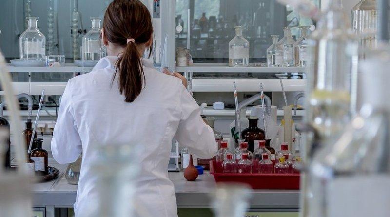 science researcher laboratory woman female