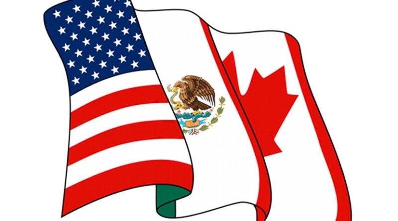 Logo of the NAFTA Secretariat of North American Free Trade Agreement