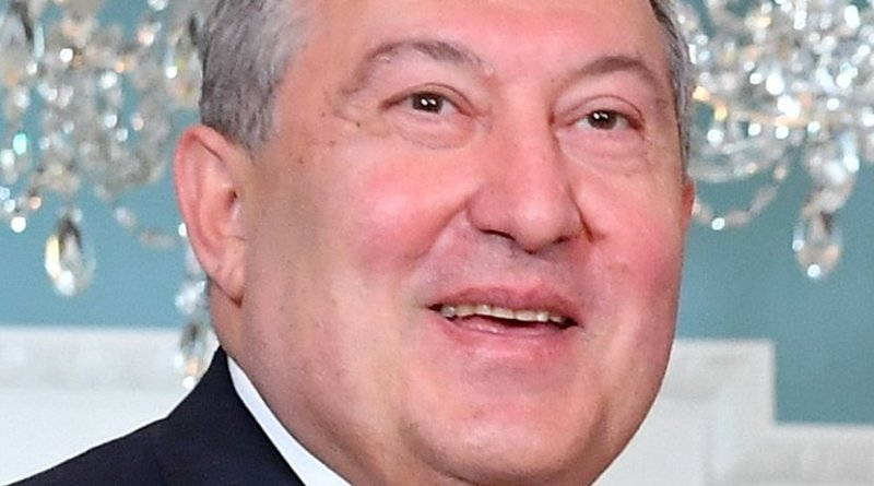 Armenia's Armen Sarkissian. Photo Credit: US State Dept, Wikipedia Commons.