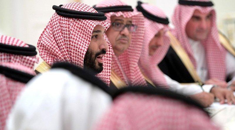 Saudi Arabia's Crown Prince Mohammad bin Salman Al Saud. Photo Credit: Kremlin.ru.