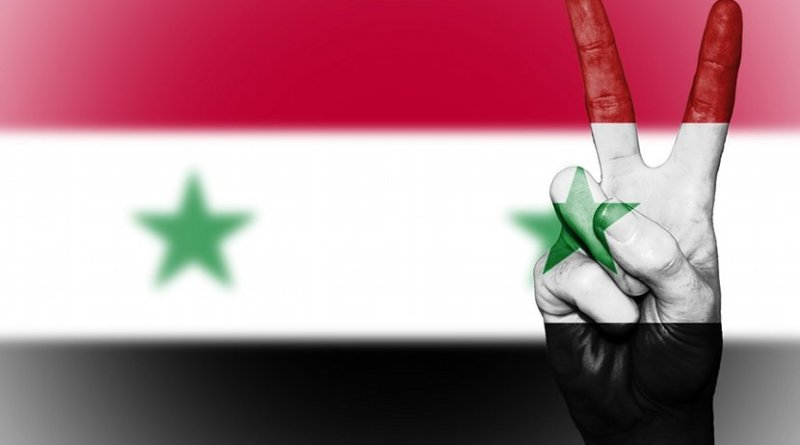peace syria flag