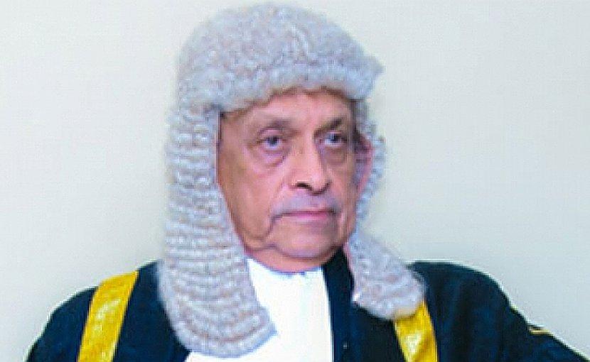 Sri Lanka's Speaker Karu Jayasuriya . Photo Credit: Sri Lanka government