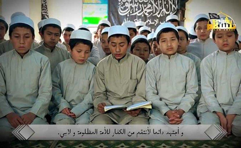 Uyghur children in al Qaeda's Madrasa in Syria