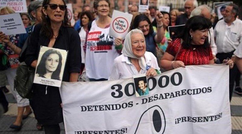 Protestors in Argentina. Photo Credit: Tasnim News Agency.