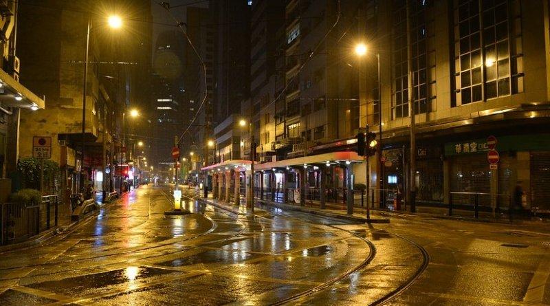 city late night