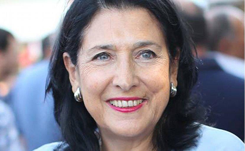 Georgia's Salome Zurabishvili. Photo Credit: Wikipedia Commons.