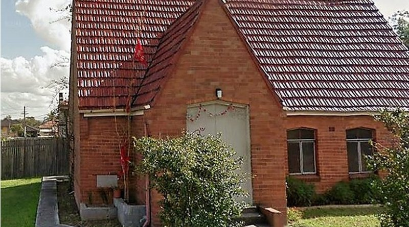 The Bhartiye Mandir Hindu Temple in Sydney, Australia.