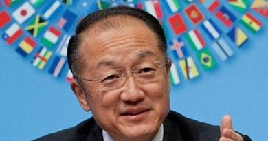 Jim Yong Kim. Photo Credit: Twitter.