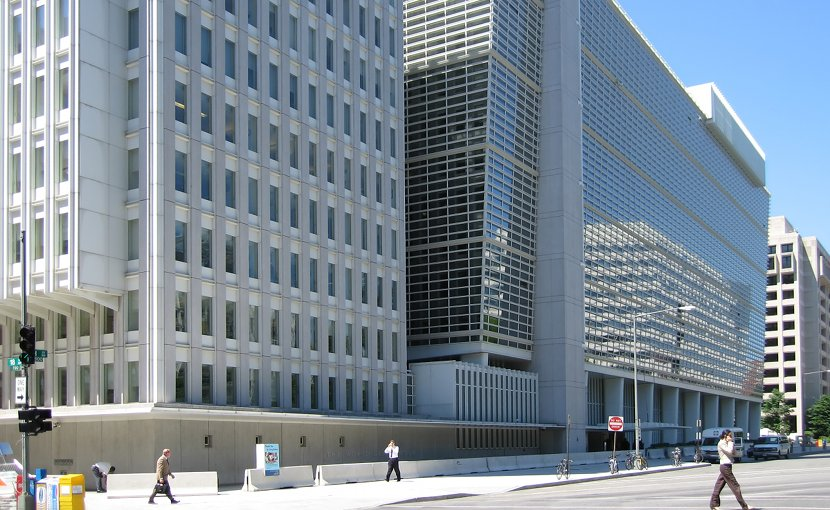 The World Bank Group headquarters building in Washington, D.C. Photo Credit: Shiny Things - Flickr, Wikipedia Commons.