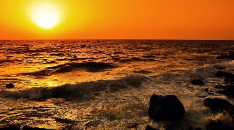 Red Sea coast in Saudi Arabia