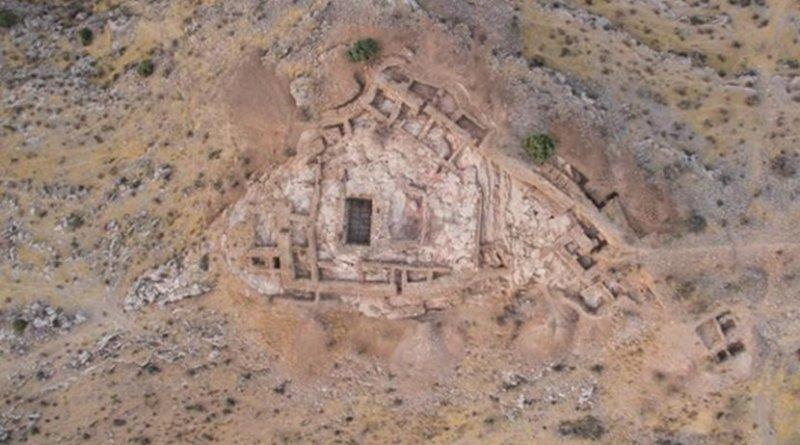 View of the Uzundara citadel from above. Credit Nigora Dvurechenskaya et al.