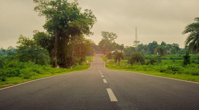 Road in West Bengal, India
