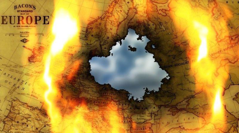 russia europe map globe