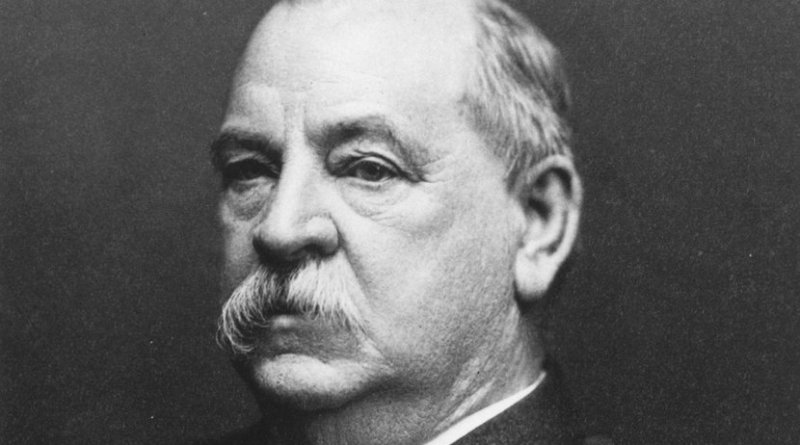 US President Grover Cleveland. Photo Credit: National Archives at College Park, Wikimedia Commons.