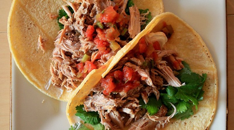 Carnitas. Photo Credit: Mike McCune, Wikipedia Commons.