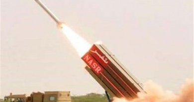 Pakistan test Nasr missile. Photo Credit: Tasnim News Agency