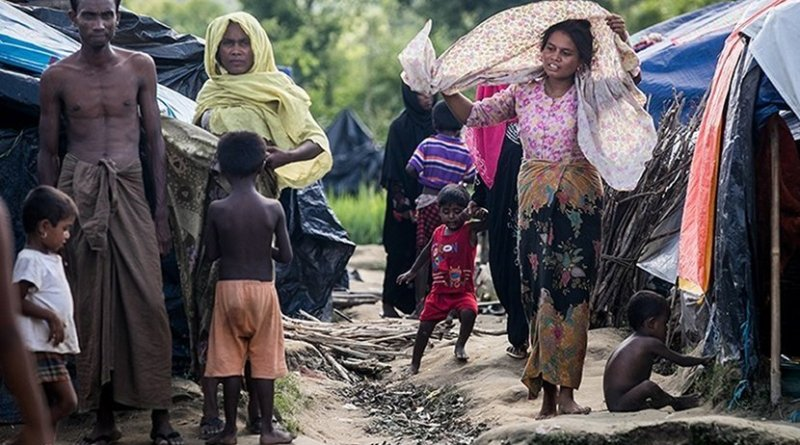 Rohingya refugees. Photo Credit: Tasnim News Agency