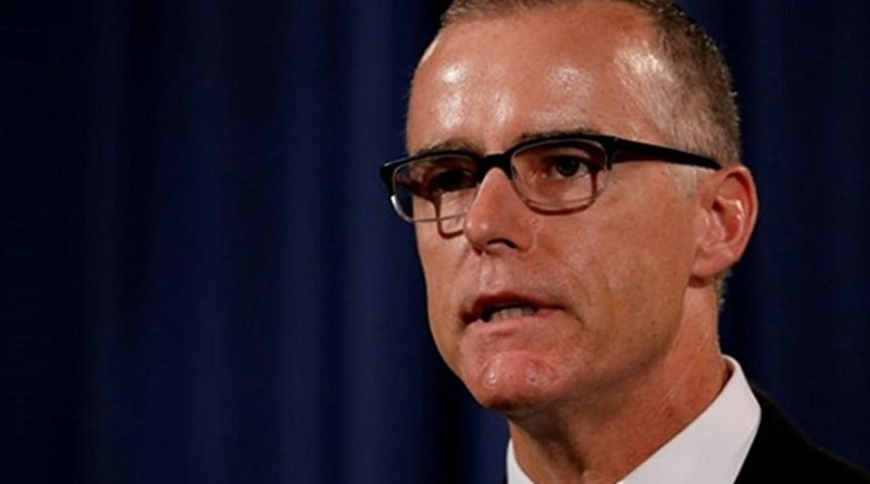 Andrew McCabe. Photo Credit: Fars News Agency