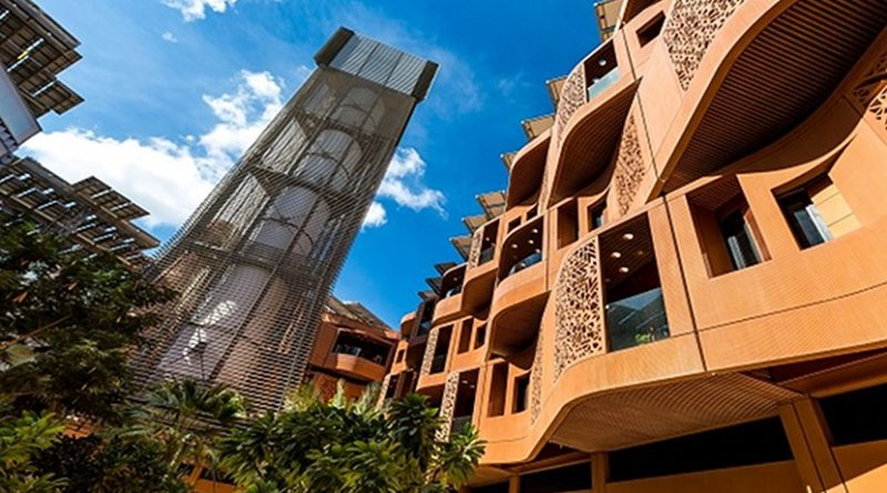 Masdar City in Abu Dhabi. Credit: Masdar