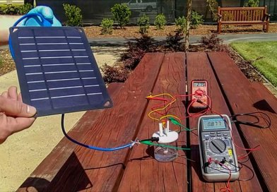 A prototype device used solar energy to create hydrogen fuel from seawater. Credit Courtesy of H. Dai, Yun Kuang, Michael Kenney