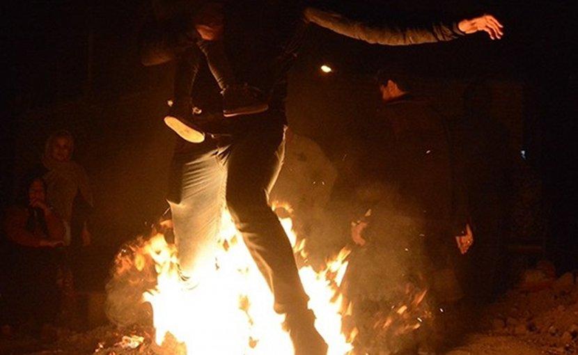 "Iranian fire festival ""Charshanbe Soori"". Photo Credit: Abbas Ahmadian, Fars News Agency"