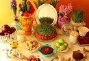 Haft Sin table in Iran. Photo Credit: Tasnim News Agency