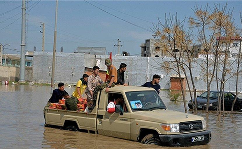 Flooding in Iran. Photo credit: Fars News Agency.